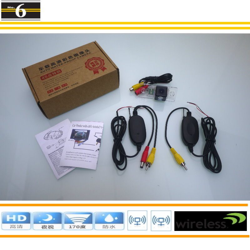 Wireless Camera For Skoda Fabia 1999~2014 / Car Rearview Camera / HD Night Vision / Plug & Play Easy Installation(China (Mainland))