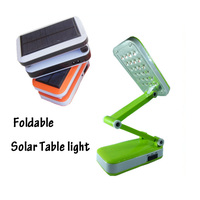 24led folding solar lamp eye protection led reading light Solar desk lamp  Free shipping
