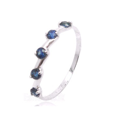 NEW!!!birthday gift,925 silver ring,,birthstone for September,Sapphire Ring,from the bigget sapphire mine in China(China (Mainland))