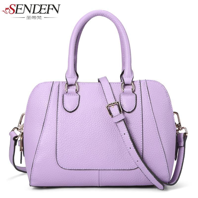 2015 Messenger Bag The Single New Spring And Summer Leather Handbag Ladies Shoulder Cross Packet of Factory Direct Detonation<br><br>Aliexpress