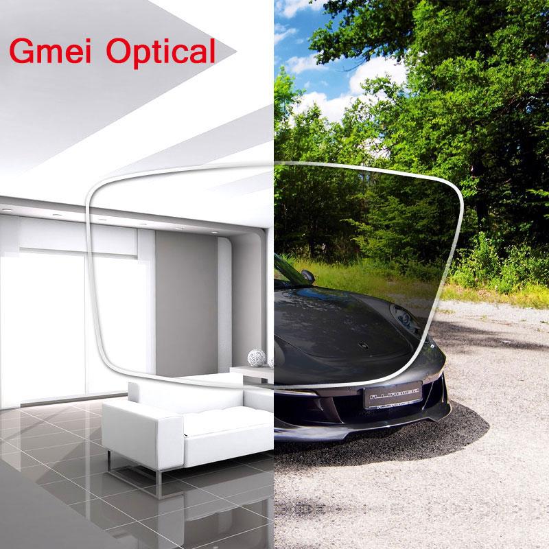 Coating Photochromic Lenses 1.56 Index Single Vision Aspheric Prescription Lens HMC EMI Anti-Radiation & UV Color Change Quickly(China (Mainland))