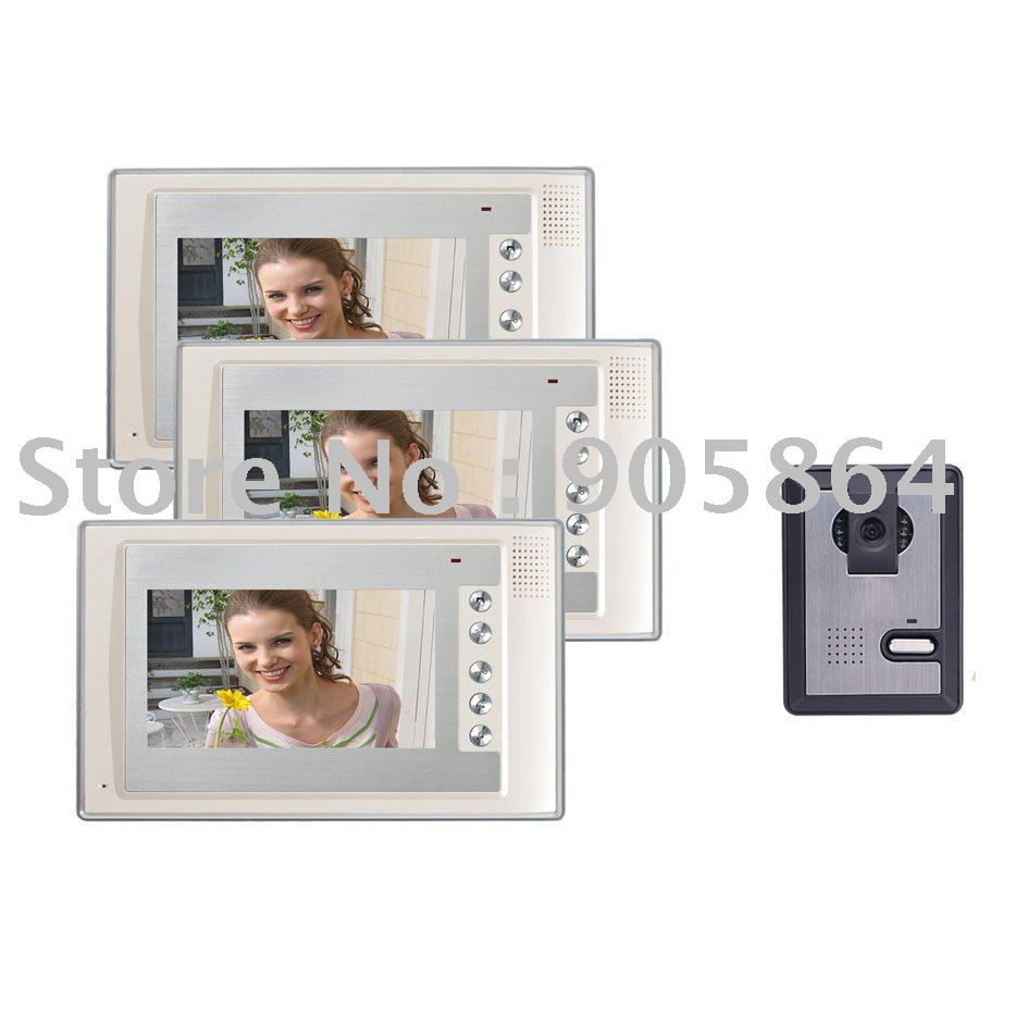 High-definition night vision video doorbell intercom (1to3)<br><br>Aliexpress
