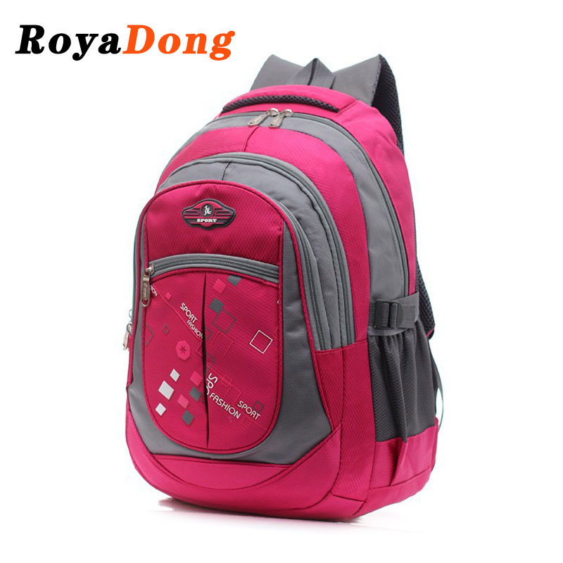 RoyaDong High Quality Large School Bags Boys Girls Children Backpacks Primary Students Backpacks Waterpfoof Schoolbag Book Bag(China (Mainland))