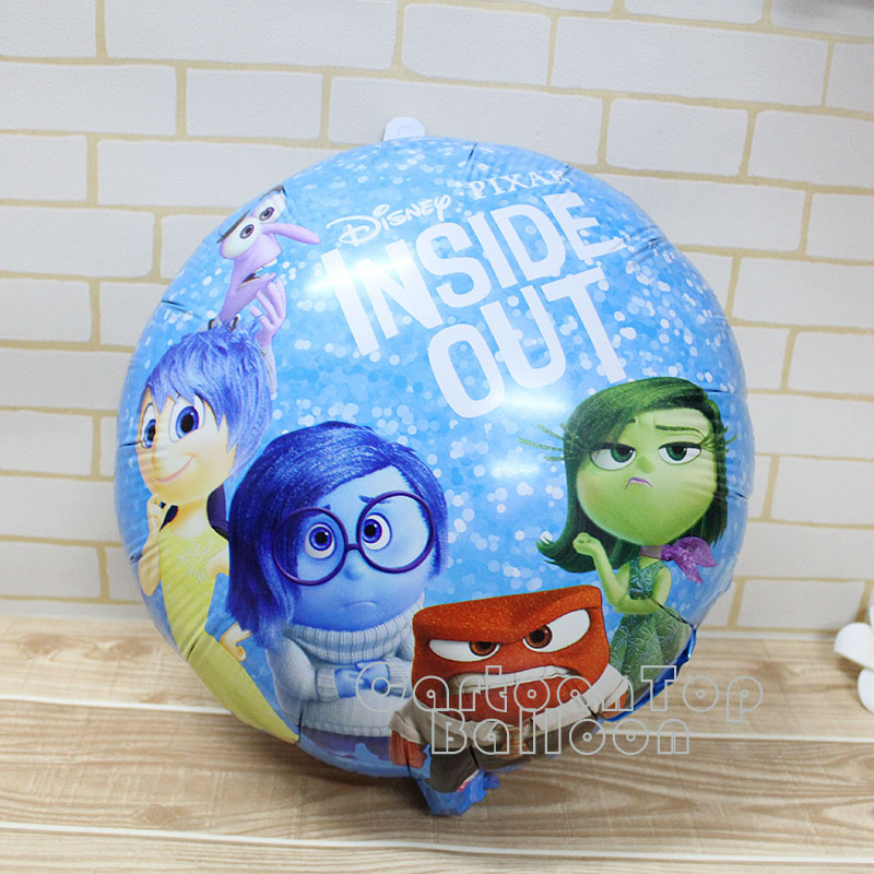 wholesale 18inch DSN Brain agent team balloon inside out foil balloons for kid happy birthday Decoration balloon classic toys<br><br>Aliexpress