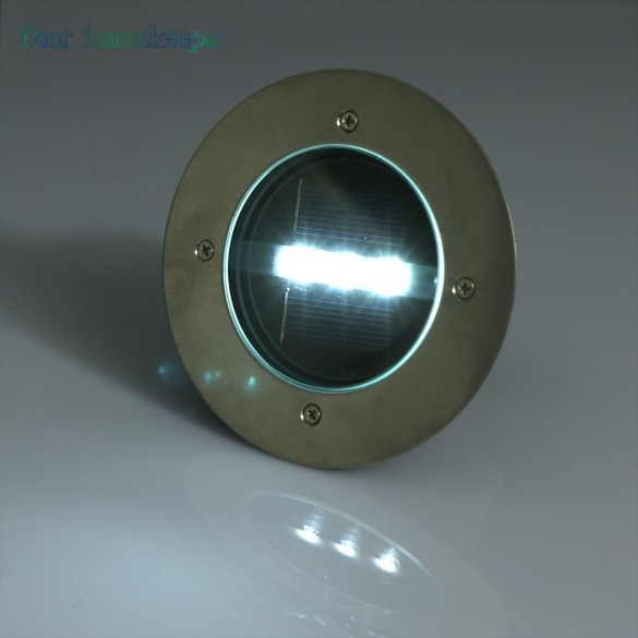 New solar powered 3 led white yellow light outdoor road for In ground walkway lights