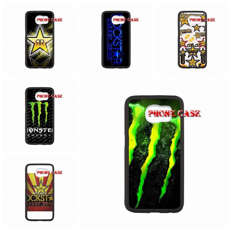 Phone Rockstar Energy Logo For iPhone SE 5s 6s plus Cute Samsung Galaxy S3 S4 Mini s6 s7 edge A3 A5 A7 E5 E7(China (Mainland))