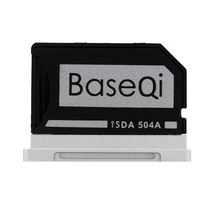 """504A BASEQI MiniDrive Memory SD Card Adapter Card Reader For Macbook Pro Retina 15"""" Model Late 2013 / after"""