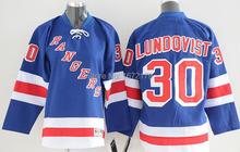 CHEAP 2015 NHL NEW YORK RANGERS HOCKEY JERSEYS #30 HENRIK LUNDQVIST BLUE HOME PREMIER STITCHED MENS NY RANGERS HOCKEY JERSEYS(China (Mainland))
