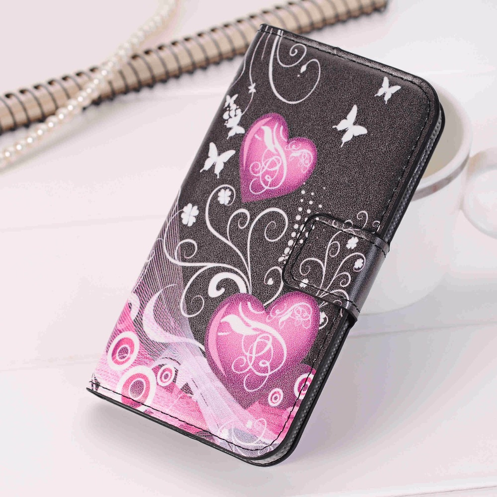 Fashion Leather Flip Cover Case For SAMSUNG GALAXY Note 2 3 4 5 A3 A5 ...
