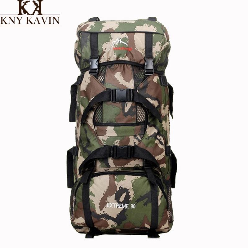 90 Liters Large Capacity Multifunction Mens Travel Bags Camping Hiking Bag Backpack For Man Trekking Rucksacks Men Backpacks<br><br>Aliexpress