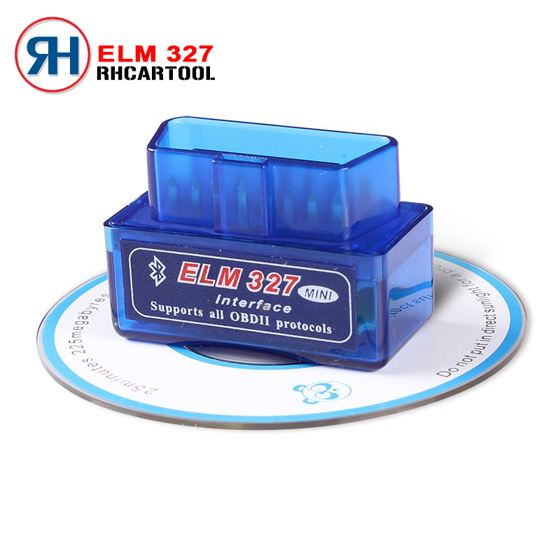 2016 Wireless V 2.1 Super Mini ELM327 Bluetooth OBD2 OBDII Bluetooth Elm 327 Car Diagnostic Scanner Works on Android/PC(China (Mainland))