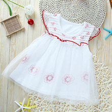 Baby Dresses Girls The Princess Dress For Babies Cotton Children Dress Baby Girls Clothing Free Shipping