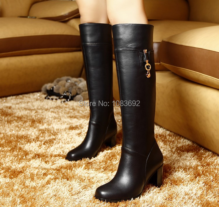 big size 30-45 riding boots 2013 new winter classic fashion women boots Knee-high boots Tall side zipper  knight boots <br><br>Aliexpress