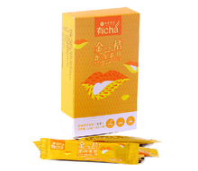 Buy 3 get 4 Orange flavour Pu er tea Tea soup is bright the fragrance of