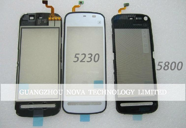 Quality Guarantee Digitizer For Nokia 5800 Touch Screen Digitizer Replacement Parts; Free Shipping 5pcs/lot(China (Mainland))