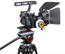 Buy DSLR Rig Video Stabilizer Shoulder Mount Rig+Matte Box+Follow Focus+ Cage Sony A7 II A7r A7s Panasonic GH4 Video Camcorder for $162.50 in AliExpress store