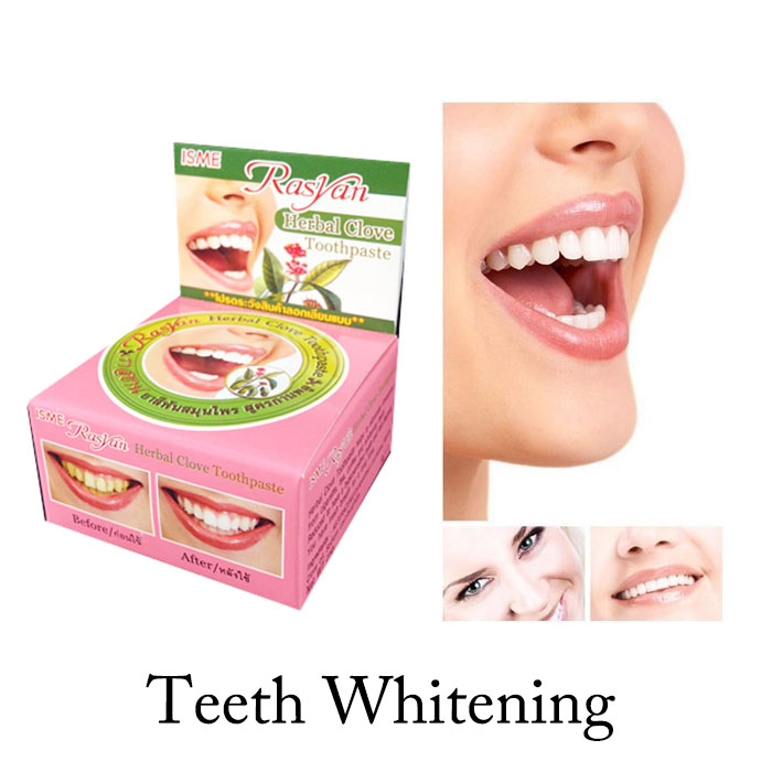 Dentifrice toothpaste whitening teeth remove smoke tea black yellow stains plaque to halitosis 5g Dental Products