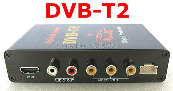 New 1pcs/lotHot Digital DVB T2 Car TV Receiver HDMI 1080P CVBS DVB-T2 Support H.264 MPEG4 Europe Russia Thai Market(China (Mainland))