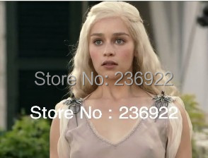 20pcs/lot Wholesale Daren whole Daeneryss Wolf Brooch Movie jewelry hotsale GAME OF THRONES Brooch women vintage jewelry Hot <br><br>Aliexpress