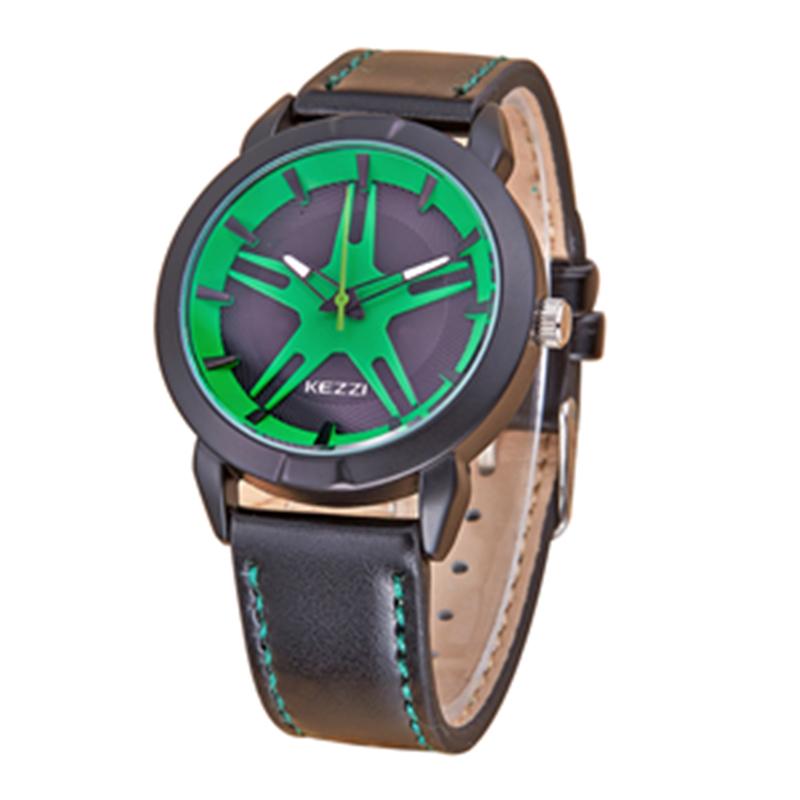 Children Watch Fashion Casual Watches Quartz Wristwatches Waterproof leather Kids Clock boys Hours Students Wristwatch k1251