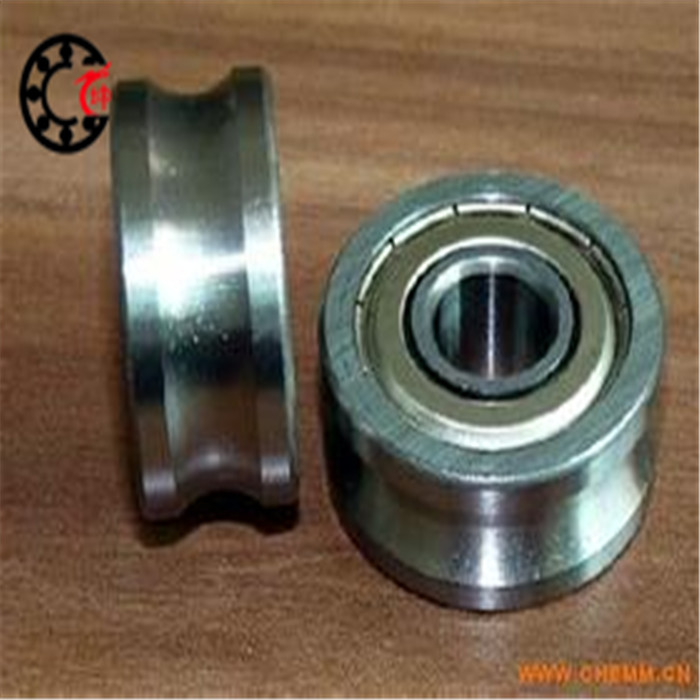 Free shipping 2pcs MR83UU MR83ZZ Molybdenum steel wire cutting/ wire guide wheels corrective straight U-groove bearings 3X8X3mm(China (Mainland))