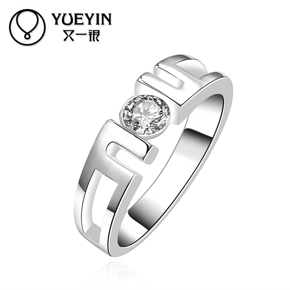 R604 Hot Selling Fashion Jewelry anillos de plata 925 Sterling Silver Rings For Women Wedding Rings bijoux Wholesale bague femme(China (Mainland))