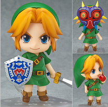 Hot ! NEW 10cm Legend of Zelda Link Majoras Mask FIGURE ONLY Limited-Edition action figure toy Christmas gift with Original box(China (Mainland))