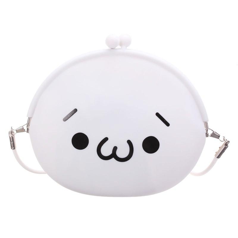 Hot sale Emoji Cartoon Women Shoulder Crossbody Bags Ladies Mini Coin Purses Small Wallets Cute Characters Phone Bag Silica Gel<br><br>Aliexpress
