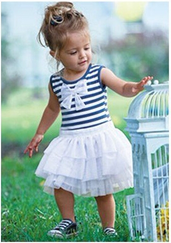 Free shipping Baby dress/ Baby clothes/ Climbing clothes/ Children's sleeveless dress wholesale and retail little girls dress(China (Mainland))