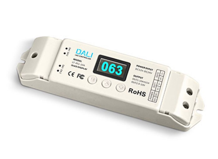 New DALI Dimmer Led PWM Dimming Driver RGBW Controller 5-24V 4Channel 5A Current Output LT-454-5A DALI LED Driver Free Shipping<br><br>Aliexpress