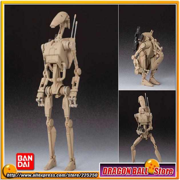 """Star Wars Episode I: The Phantom Menace"" Original BANDAI Tamashii Nations SHF S.H.Figuarts Action Figure - Battle Droid(China (Mainland))"