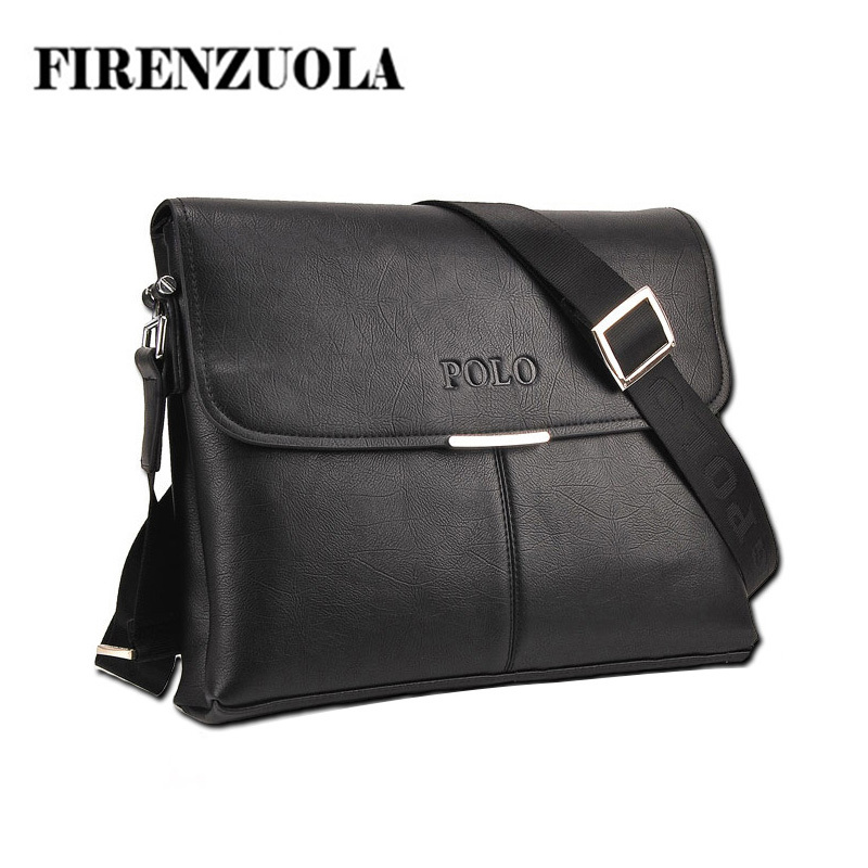 New casual men messenger bag leather bags for men business formal briefcase high quality firenzuola #143(China (Mainland))