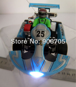 Free shipping 5CH 1:23 Wltoys 2011 Racing Kart  Car,Carton Radio Control Vehicle With Light ,2 style 4 colors mixed,48 PCS/Lot