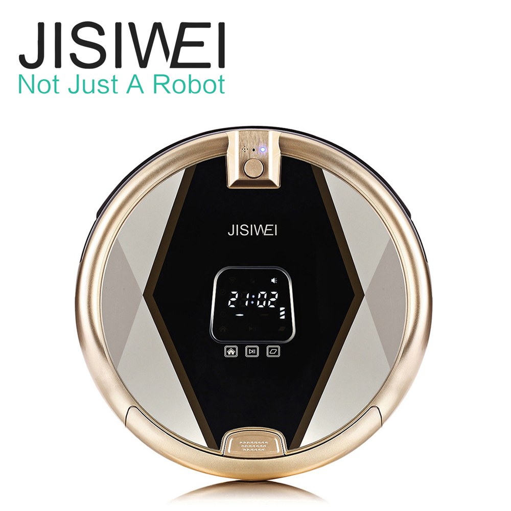 JISIWEI S+ Best Robot Vacuum Cleaner Intelligent Home Floor Sweeping Robot WIFI Remote Control Automatic Vacuum Cleaning Machine(China (Mainland))