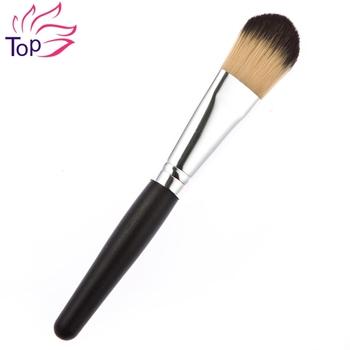 Ногтей черный коричневая красоты Pincel Maquiagem фонд кисть щетки Maquillaje BP047