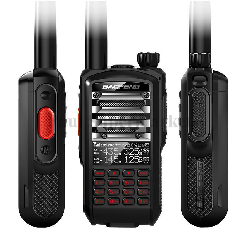 Baofeng UV 5R Walkie Talkie 8W High Power Portable Two Way Radio VHF UHF Pofung UV Dual Band Fith BF-UV5R PTT Ham Comunicador(China (Mainland))