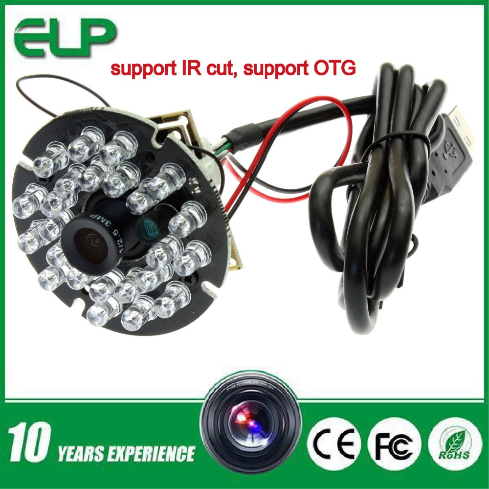 1.3mp HD 8mm lens 0.01lux , night vision cmos usb ir camera module with IR cut &led board(China (Mainland))