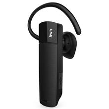 Awn headphone Bluetooth HD Stereo Headset with Built-in Mic and 720 Degree Rotating Earhook phone earphone for iphone Samsung
