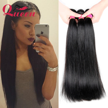 Brazilian Hair Weave 4 Bundles 8A Virgin Straight Queen Products Unprocessed - Store store