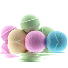 100g/3.5oz Natural Bubble Bath Ball Bomb Essential Oil Handmade SPA Bath Fizzy Christmas Gift Set for Her Free Shipping(China (Mainland))