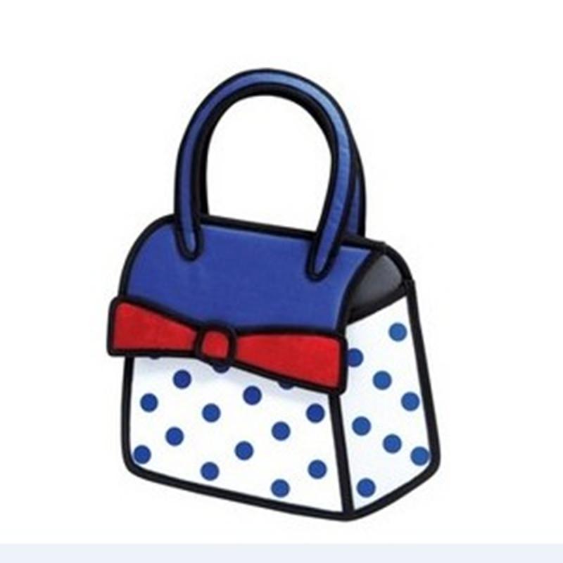 Wholesale 32 Styles 3d Cartoon Bag Shoulder inclined Cross Bag Creative Birthday Gift Women Messenger Bag(China (Mainland))