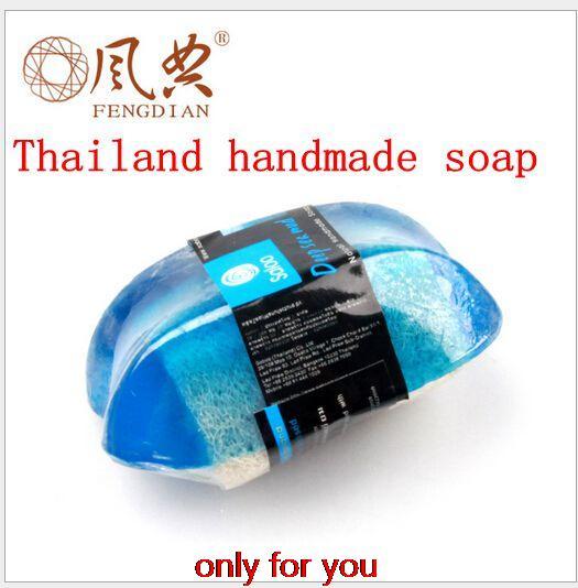 Thailand Handmade Soap Thailand Sea Deep Cleansing Hand SOAP Free Shipping 110g(China (Mainland))