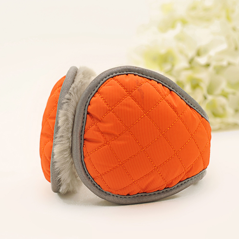 Screw new arrival 2014 quality thermal earmuffs female winter fashion all-match ear folding bag(China (Mainland))