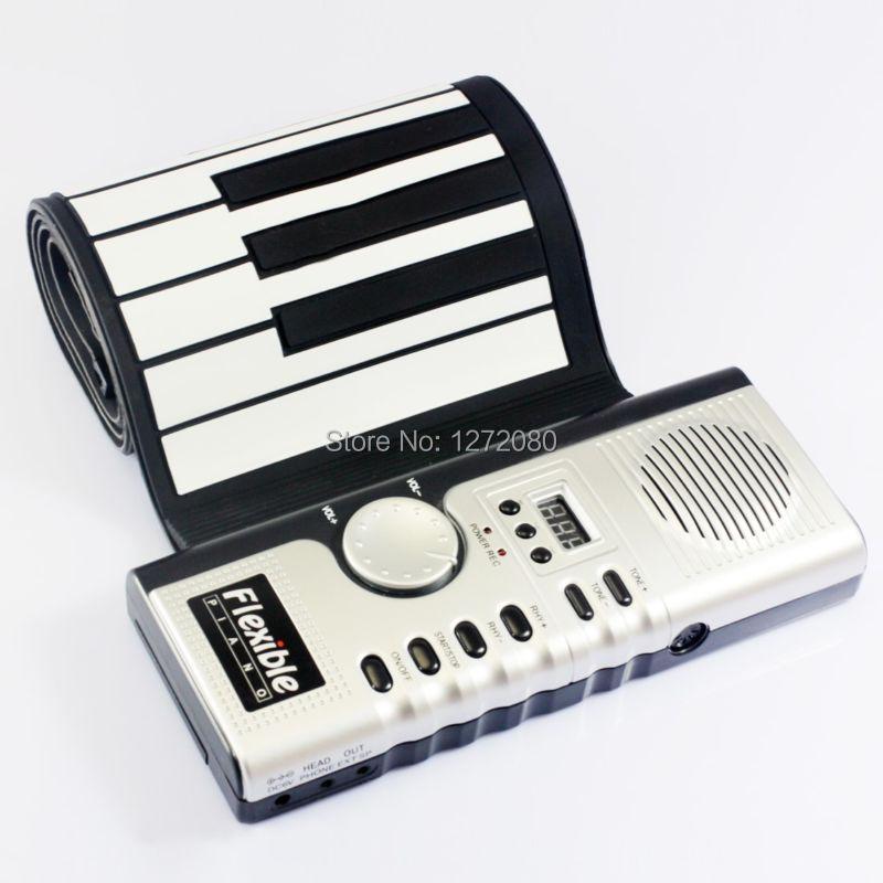 Купить Строительство и Недвижимость  Details about Soft keyboard piano Musical Instrument silicone electronic 61 key MIDI Flexible None