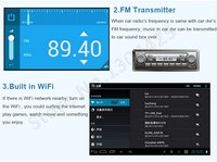 Автомобильный компьютер Phisung 5.0 Android GPS WiFi FM G FHD 1080P dash cam GPS