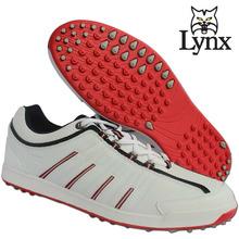 Мужчины оригинальные LYNX гольф мужской обуви водонепроницаемый анти-слип ударопоглощение спортивная обувь мужчины mirofiber кожа спортивная обувь