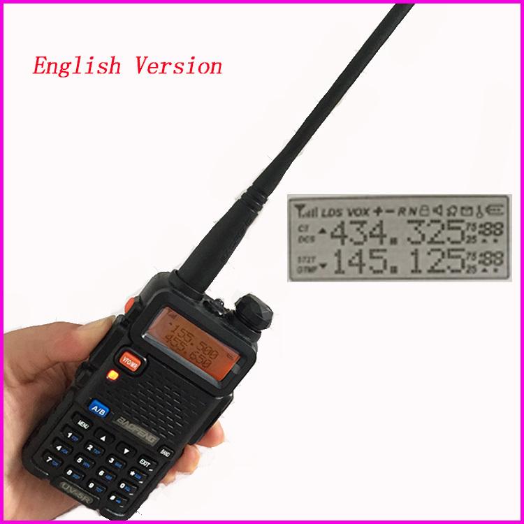 Baofeng UV-5R Portable Radio walkie talkie sets ham radio station For walk talk CB radio comunicador Bao feng two way radio(China (Mainland))