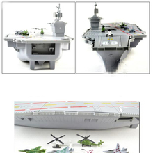 1pcs/lot Cruiser/Aircraft Carrier Toys Model Airplane Kids Toys Action Figures Miniatura 1:800 Model Toys Gift Boxed 44cm(China (Mainland))