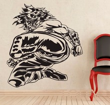 Buy Liu Kang Wall Sticker Mortal Kombat Game Vinyl Art Decal Home Interior Design Bedroom Dorm Decor Boys Room Removable Mural for $11.89 in AliExpress store