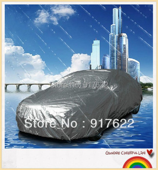 Car cover  No ears  Popularity Covers of the uv Protection Against Rain Coat  L  480*175*120  Free shipping